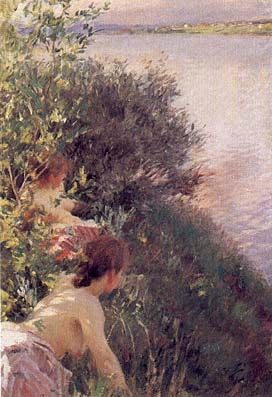 famous painting Opal of Anders Leonard Zorn