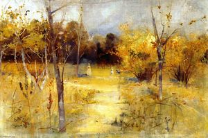 Charles Edward Conder - Orchard at Box Hill