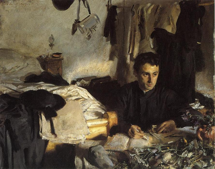 famous painting Padre Sebastiano (also known as Padre Albera) of John Singer Sargent