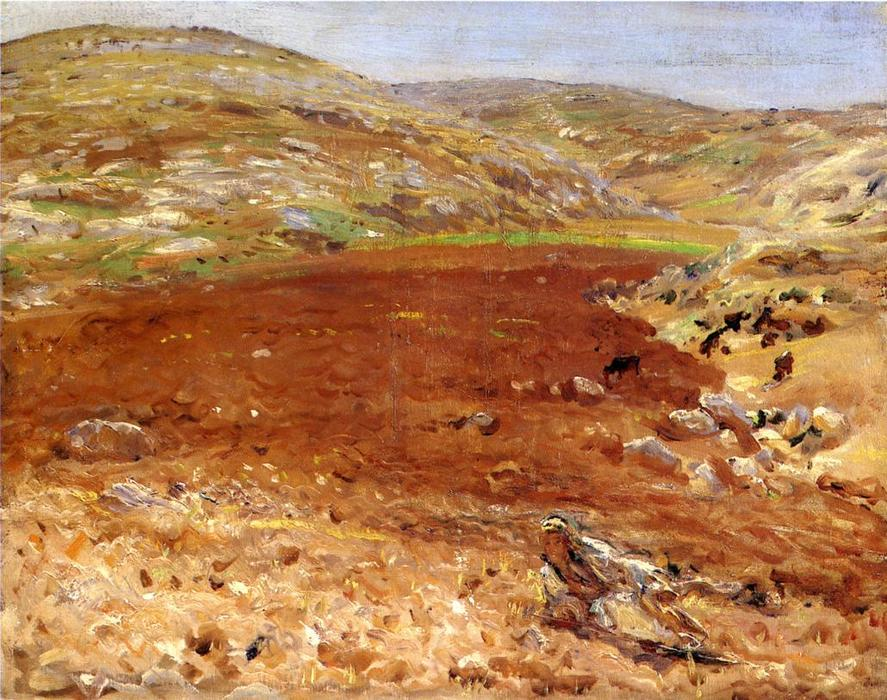 famous painting Palestine of John Singer Sargent