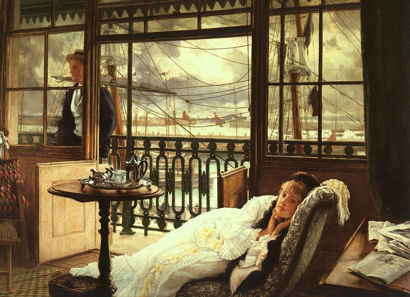 Order Museum Quality Copies Impressionism | A Passing Storm by James Jacques Joseph Tissot | TopImpressionists.com