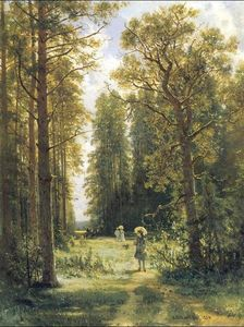 Ivan Ivanovich Shishkin - Path in a forest