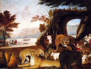 Edward Hicks - Peaceable Kingdom (25)