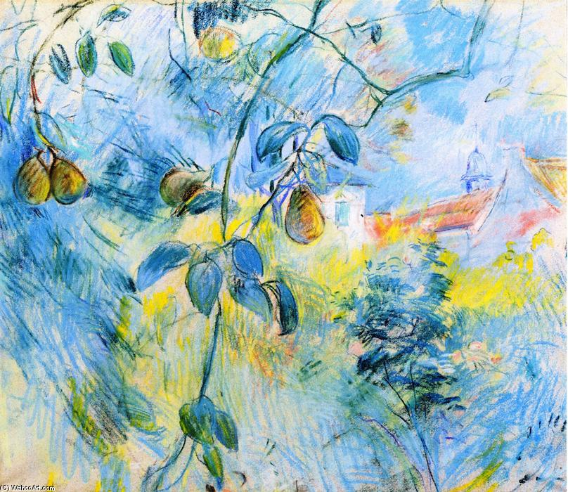 famous painting Pears of Berthe Morisot