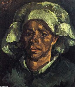 Vincent Van Gogh - Peasant Woman, Portrait of Gordina de Groot