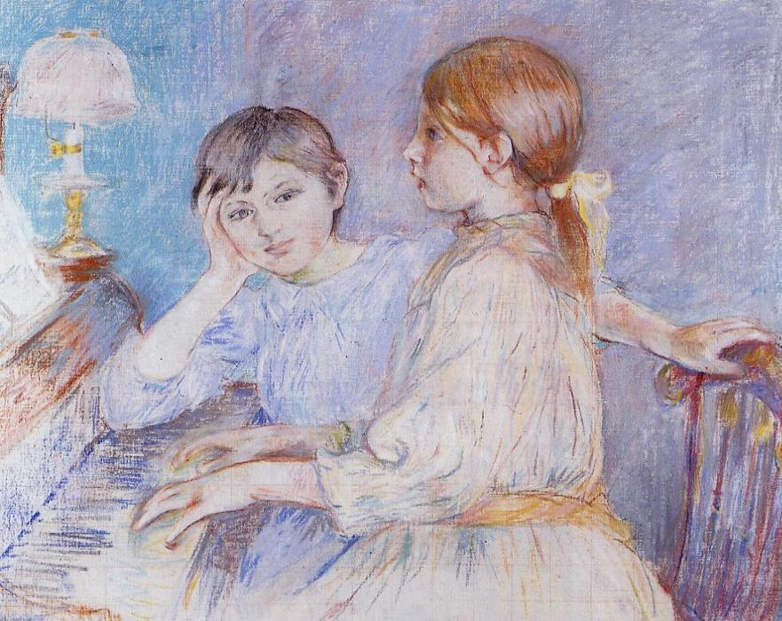 famous painting The Piano of Berthe Morisot