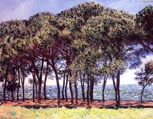 Claude Monet - Pine Trees, Cap d'Antibes