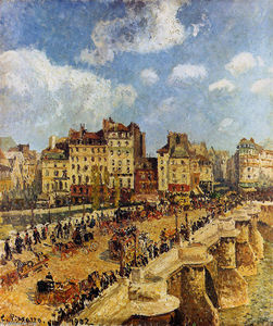 Camille Pissarro - The pont Neuf