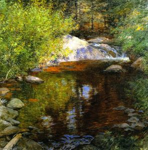 Willard Leroy Metcalf - The Pool