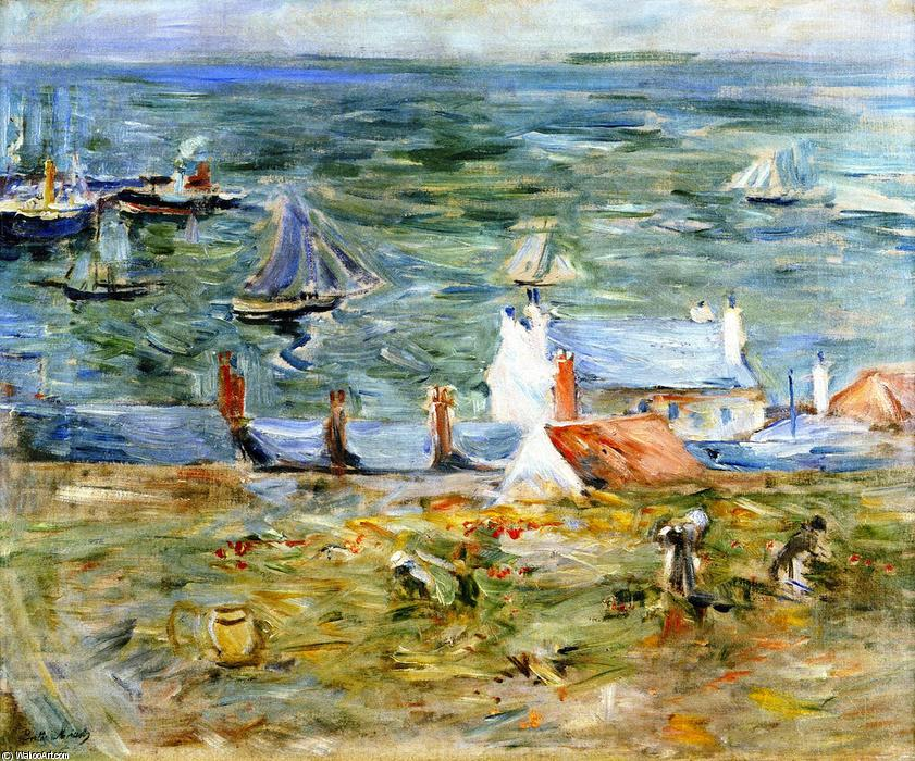 famous painting Port of Gorey of Berthe Morisot