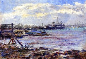 Frederick Mccubbin - Port of Melbourne
