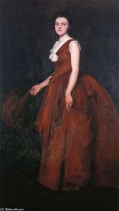 Edmund Charles Tarbell - A Portrait (also known as Madame Tarbell)