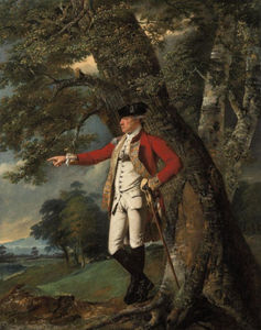 Joseph Wright Of Derby - Portrait Of Colonel Charles Heathcote
