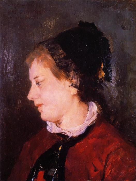 famous painting Portrait of Madame Sisley of Mary Stevenson Cassatt