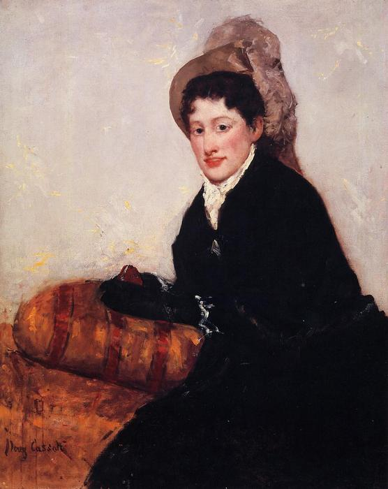 famous painting Portrait of Madame X Dressed for the Matinee of Mary Stevenson Cassatt