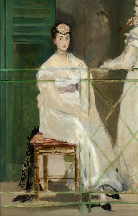 famous painting Portrait of Mademoiselle Claus of Edouard Manet