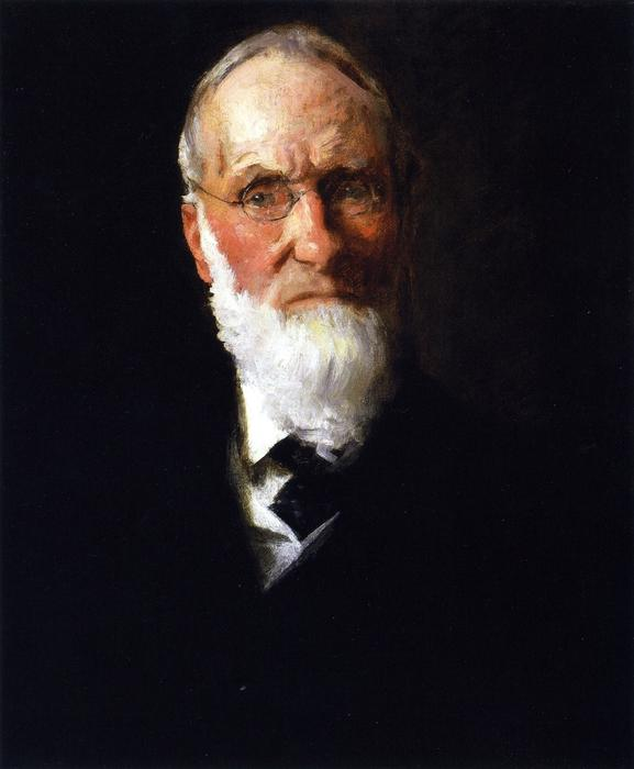 famous painting Portrait of My Father of William Merritt Chase