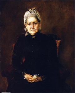 William Merritt Chase - Portrait of My Mother (also known as Portrait of the Artist's Mother)