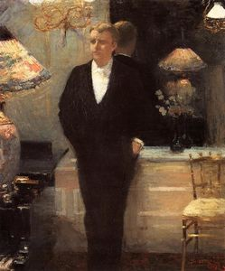 Theo Van Rysselberghe - Portrait of Octave Maus