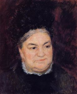 Pierre-Auguste Renoir - Portrait of an Old Woman (also known as Madame le Coeur)