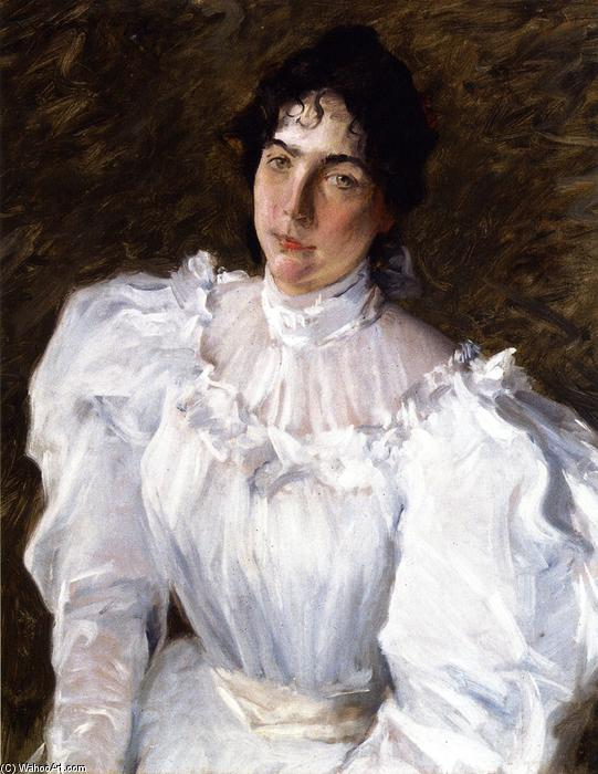 famous painting Portrait of Virginia Gerson of William Merritt Chase