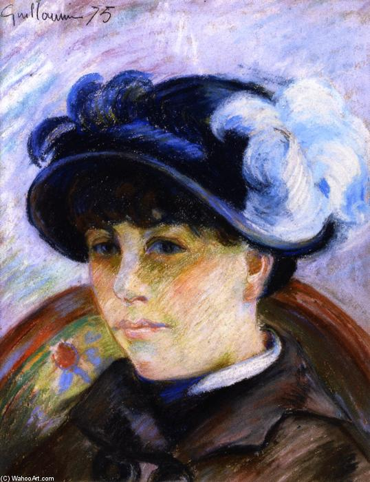 famous painting Portrait of a Young Woman of Jean Baptiste Armand Guillaumin