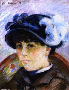 Jean Baptiste Armand Guillaumin - Portrait of a Young Woman