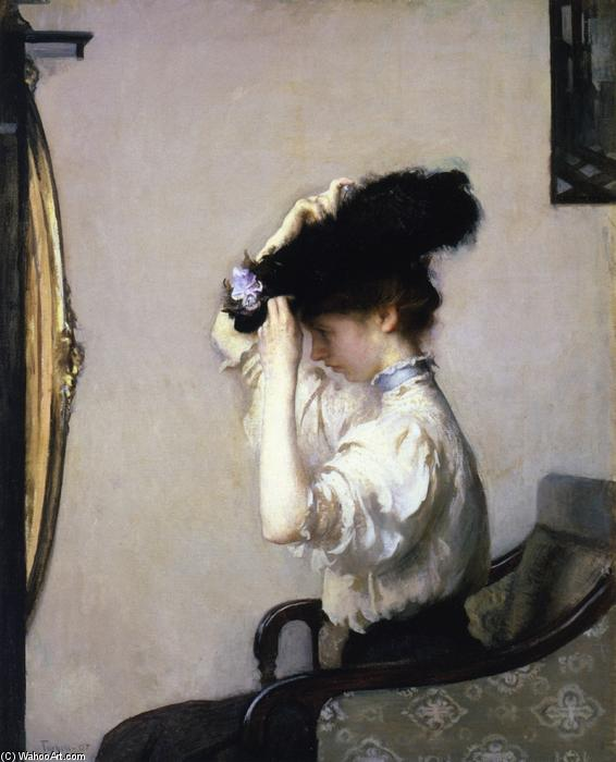 famous painting Preparing for the Matinee of Edmund Charles Tarbell