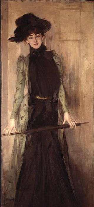famous painting Princesse de Caraman Chimay (later Madame Jourdan) of Giovanni Boldini