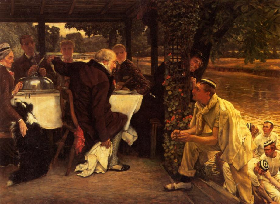 famous painting The Prodigal Son in Modern Life: the Fatted Calf of James Jacques Joseph Tissot