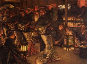 James Jacques Joseph Tissot - The Prodigal Son in Modern Life: in Foreign Climes