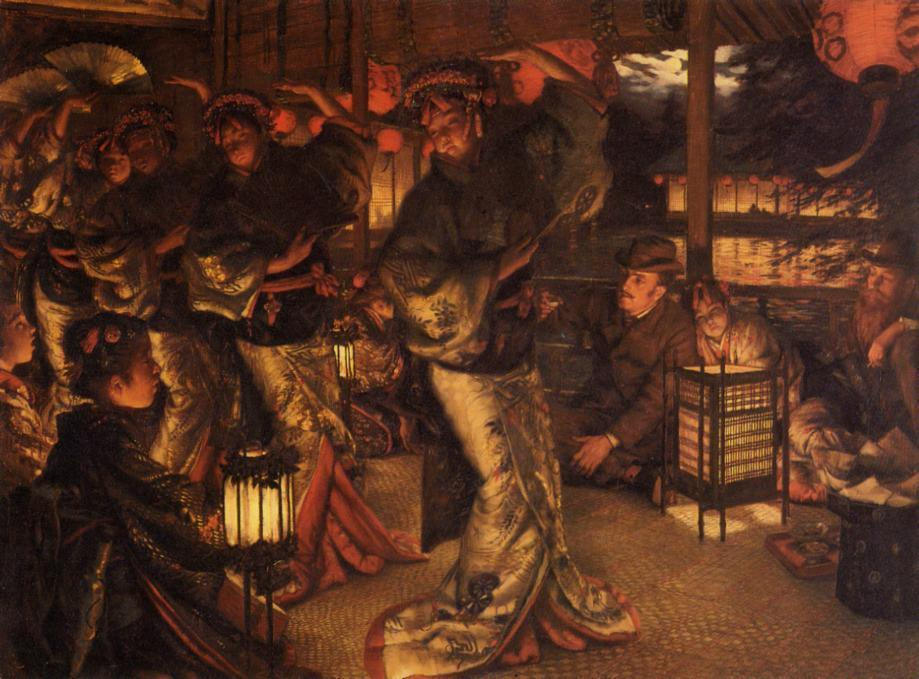 famous painting The Prodigal Son in Modern Life: in Foreign Climes of James Jacques Joseph Tissot