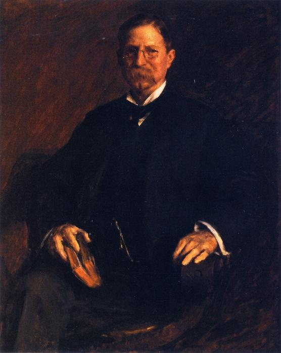 famous painting Professor T. U. Taylor of William Merritt Chase