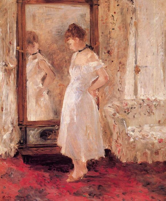 famous painting Psyche of Berthe Morisot