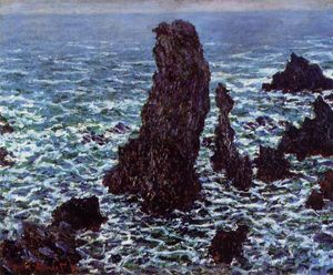 Claude Monet - The 'Pyramids' of Port Coton, Belle-Ile-en-Mer