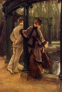 James Jacques Joseph Tissot - Quarrelling