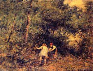 Frederick Mccubbin - The Rabbit Burrow