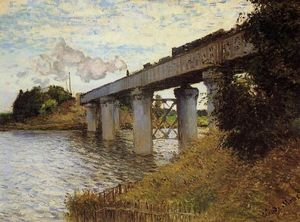Claude Monet - The Railway Bridge at Argenteuil