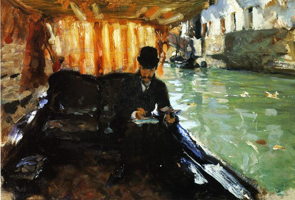 famous painting Ramon Subercaseaux of John Singer Sargent