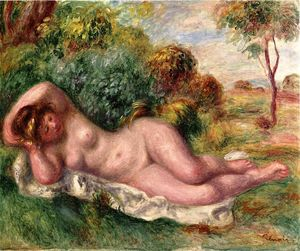 Pierre-Auguste Renoir - Reclining Nude (also known as The Baker's Wife)