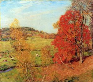 Willard Leroy Metcalf - Red Maple