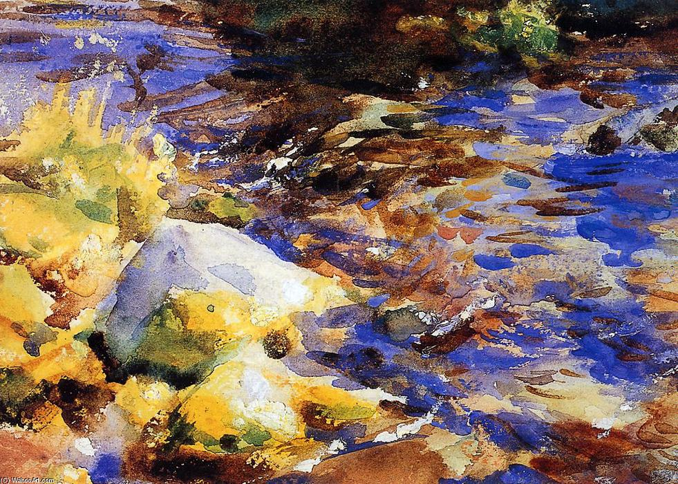 famous painting Reflection of John Singer Sargent