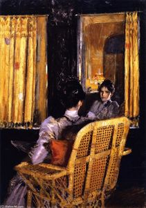 William Merritt Chase - Reflections (also known as Reflection)