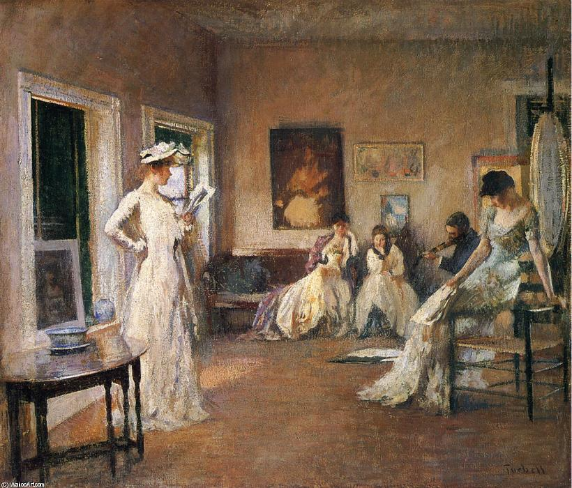 famous painting Rehearsal in the Studio of Edmund Charles Tarbell