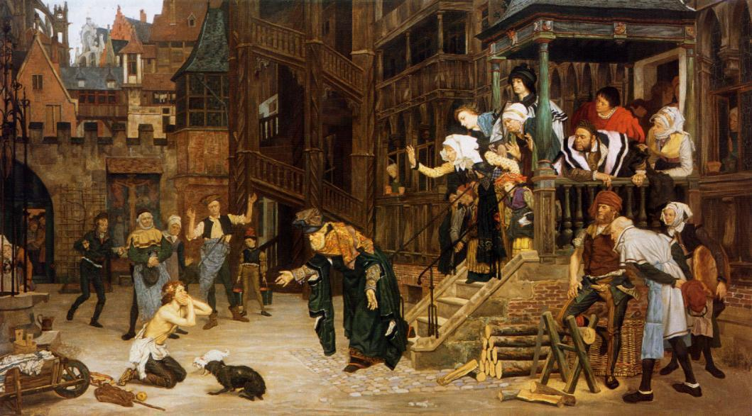famous painting The Return of the Prodigal Son of James Jacques Joseph Tissot