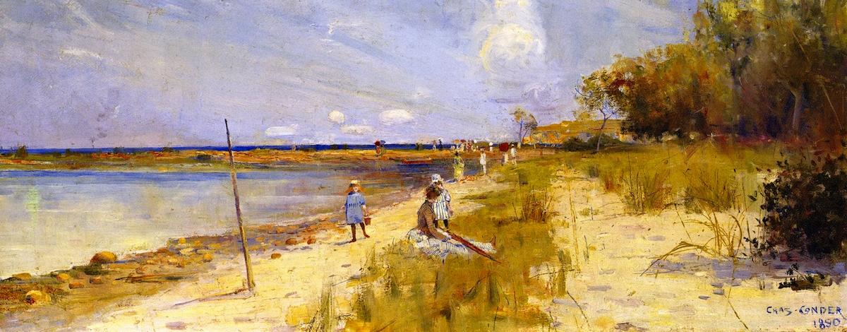famous painting Rickett's Point of Charles Edward Conder