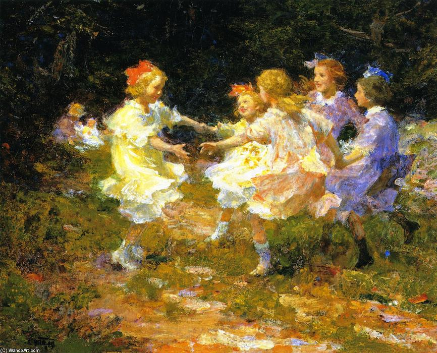 famous painting Ring Around the Rosey of Edward Henry Potthast