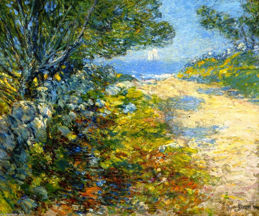 famous painting Road to the Sea of Frederick Childe Hassam
