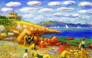 William James Glackens - Rockport, Massachusetts, No. 5