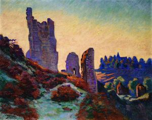 Jean Baptiste Armand Guillaumin - The Ruins of the Château de Crozant